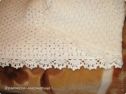 Вязание крючком для новорожденных плед