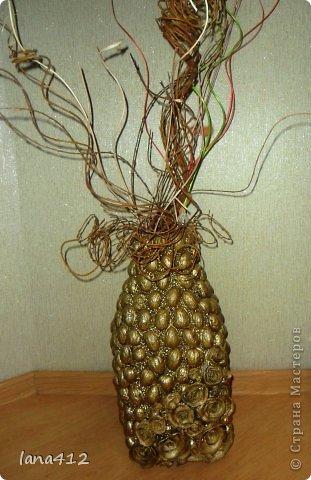 из коробок из-под сока; цветы из гофрированной бумаги фото 3