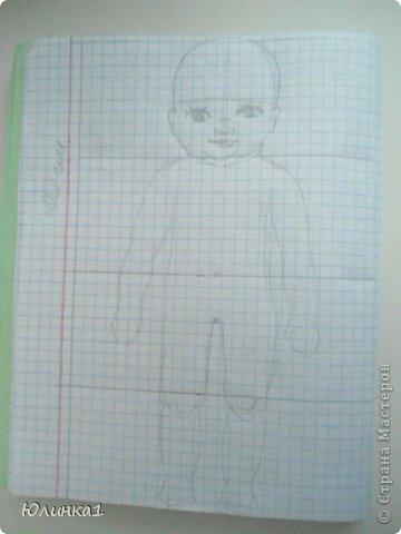мк по лепке куклы Теория часть 1 Карандаш Фольга фото 1