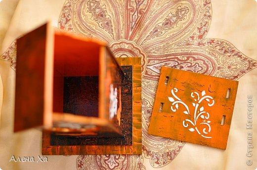 Осень, грусть и печаль в душе, домик получился вот таким. Мой первый чайный домик. Вот такое хокку, думаю, подходит для моего домика: И осенью хочется жить  Этой бабочке: пьет торопливо  С хризантемы росу.  фото 4