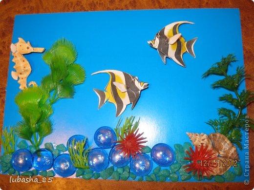 Поделка аквариум изоражения