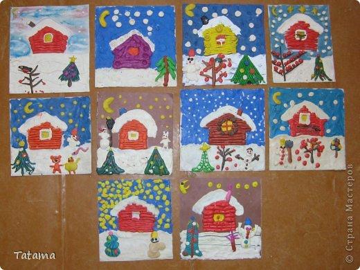 Рисование с детьми 4-5 лет мастер класс