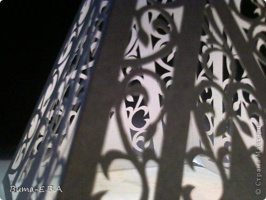 Поделка изделие 8 марта День рождения Новый год Вырезание Ночничок Бумага Клей фото 14