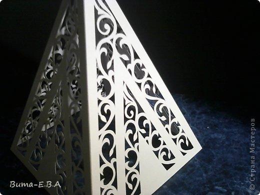 Поделка изделие 8 марта День рождения Новый год Вырезание Ночничок Бумага Клей фото 34