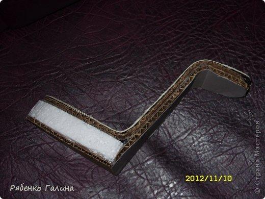 вот собственно туфли, выполнены в технике папье маше+декупаж фото 4