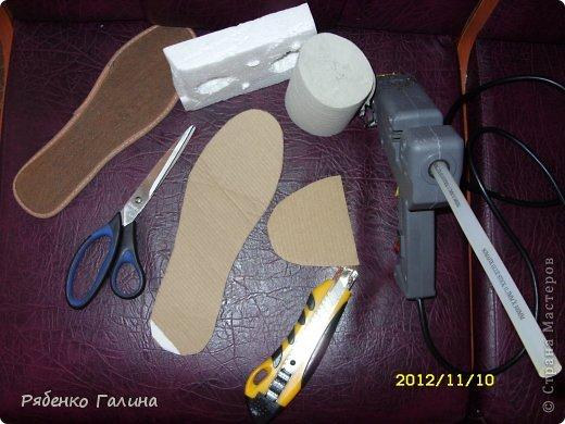 вот собственно туфли, выполнены в технике папье маше+декупаж фото 3
