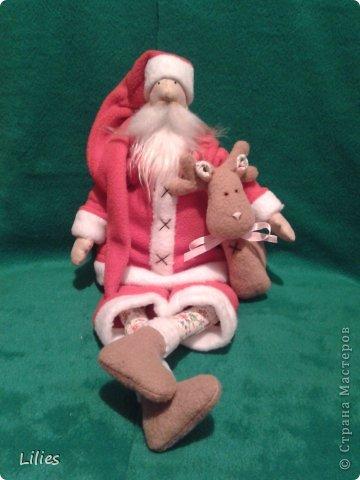 Дед мороз в стиле тильда  фото 1