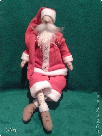 Дед мороз в стиле тильда  фото 2