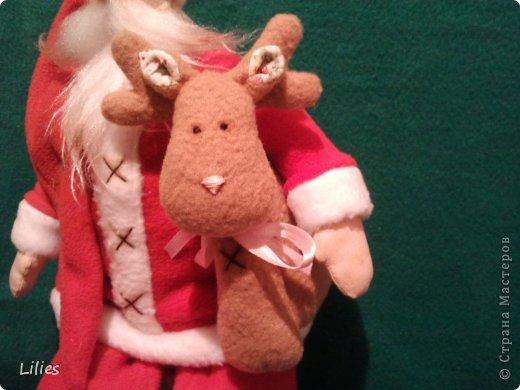 Дед мороз в стиле тильда  фото 4
