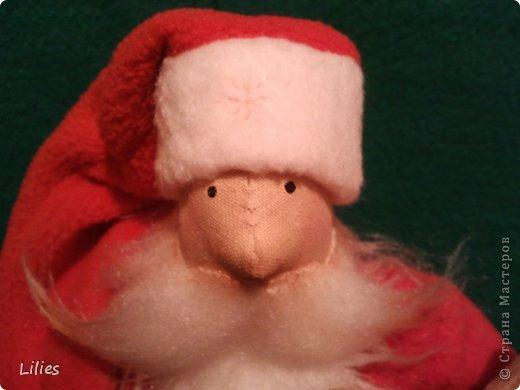 Дед мороз в стиле тильда  фото 3