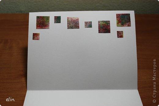 Продолжаю бежать марафон, на Хомячке второе экспресс-задание, в работе надо использовать что-то квадратное , что-то белое, а также добавьте всяческие брызги, кляксы, капли краской или чем-либо еще. Я опять с открыткой, на этот раз на день рожденье! Однажды увидела похожего зайца в интернете и влюбилась (идея не моя). фото 7