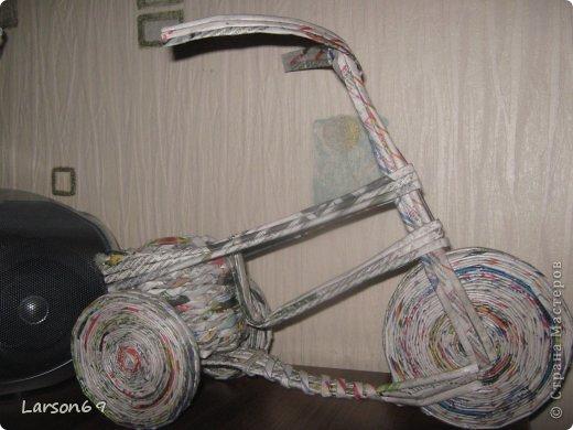 Вот такой велосипед сплели с сыном на выставку   http://www.babyblog.ru/community/post/rukodelie/1698670 фото 3