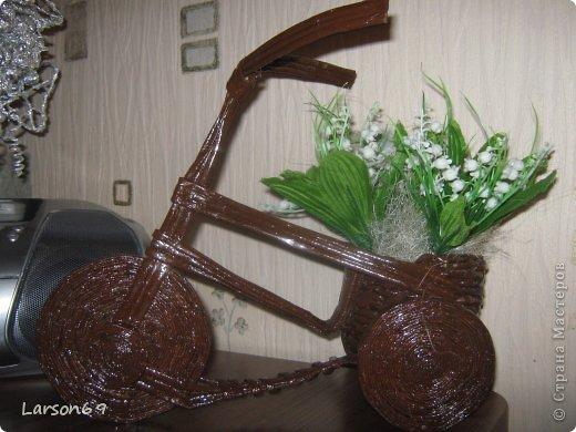 Вот такой велосипед сплели с сыном на выставку   http://www.babyblog.ru/community/post/rukodelie/1698670 фото 5