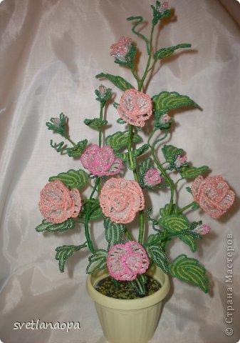 Розы из бисера мастер класс с пошаговым