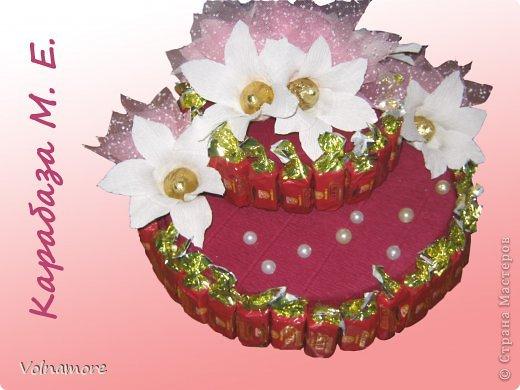 Букеты из конфет бумага гофрированная
