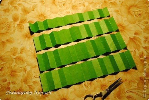 Мастер-класс Новый год Бумагопластика Ёлочка-гармошка Бумага фото 11