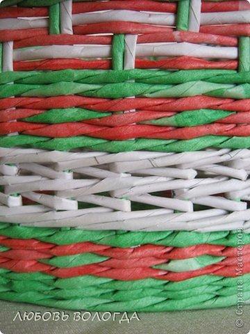 Поделка изделие Плетение Клубничная  Трубочки бумажные фото 5