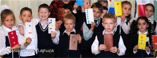 Ко Дню матери мы с учениками младших классов делали объёмную открытку с распускающимся цветком. Предлагаю мастер класс. фото 20