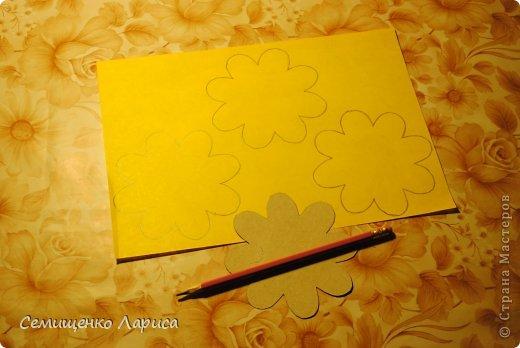 Ко Дню матери мы с учениками младших классов делали объёмную открытку с распускающимся цветком. Предлагаю мастер класс. фото 3