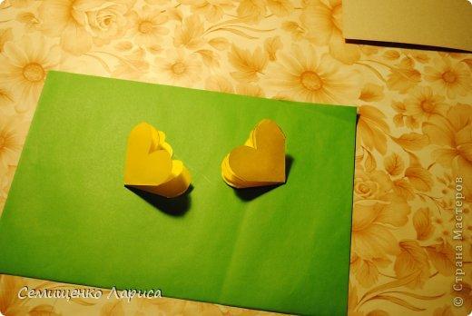 Ко Дню матери мы с учениками младших классов делали объёмную открытку с распускающимся цветком. Предлагаю мастер класс. фото 12