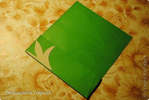Ко Дню матери мы с учениками младших классов делали объёмную открытку с распускающимся цветком. Предлагаю мастер класс. фото 15