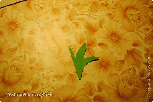 Ко Дню матери мы с учениками младших классов делали объёмную открытку с распускающимся цветком. Предлагаю мастер класс. фото 16