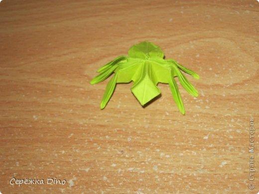 оригами муравей схема
