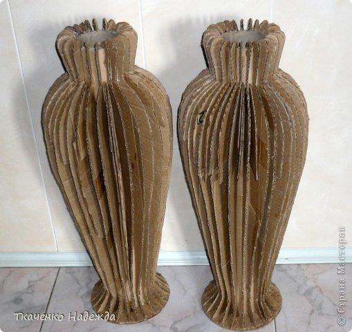 Напольные вазы мастер класс 61
