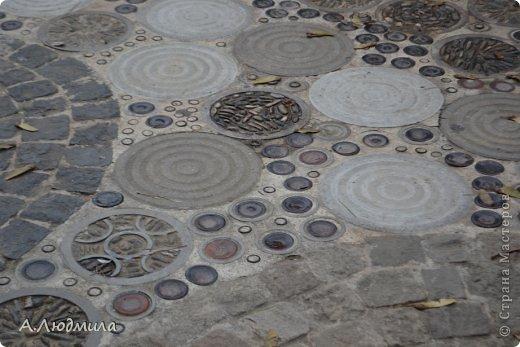 Барселона, Антонио Гауди, Парк Гуэль..... А вы видели вот такие дорожки? фото 3