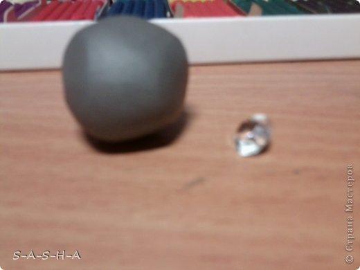 МК кулон Н2О просто добавь воды (из пластилина) фото 2