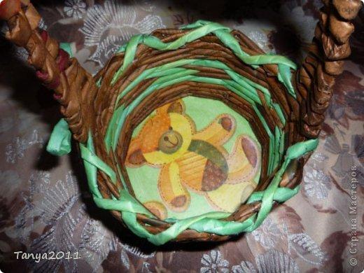 Добрый день всем мастерам и мастерицам! Сплелся у меня такой апельсиновый подносик. Водная морилка: цвет мокко и лиственница+ мокко (получается цвет соломки). фото 7