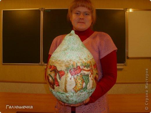 Как сделать большой шар из папье маше 57