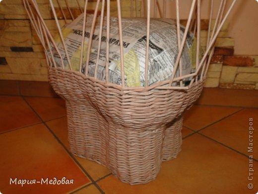 Поделка изделие Плетение Плетёный слоник мини мк Бумага газетная Трубочки бумажные фото 15
