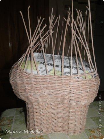 Поделка изделие Плетение Плетёный слоник мини мк Бумага газетная Трубочки бумажные фото 20