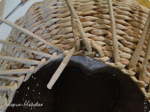 Поделка изделие Плетение Плетёный слоник мини мк Бумага газетная Трубочки бумажные фото 23