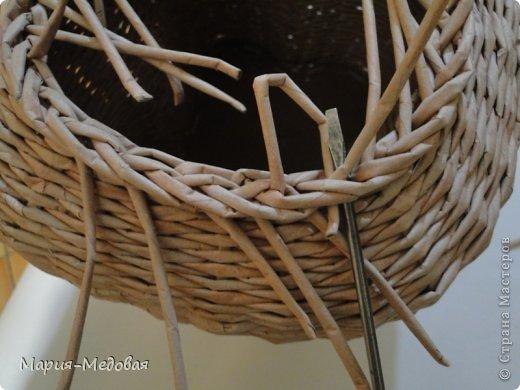 Поделка изделие Плетение Плетёный слоник мини мк Бумага газетная Трубочки бумажные фото 27