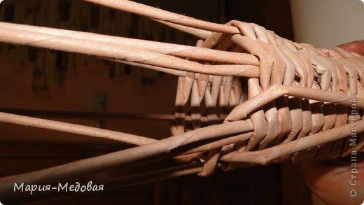Поделка изделие Плетение Плетёный слоник мини мк Бумага газетная Трубочки бумажные фото 33