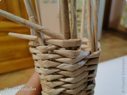 Поделка изделие Плетение Плетёный слоник мини мк Бумага газетная Трубочки бумажные фото 34