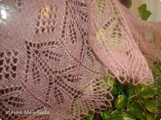 Гардероб Вязание спицами шаль