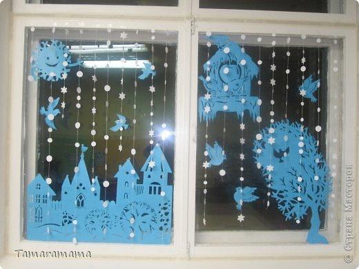 Не судите строго, так мы оформили окна в группе детского сада фото 3