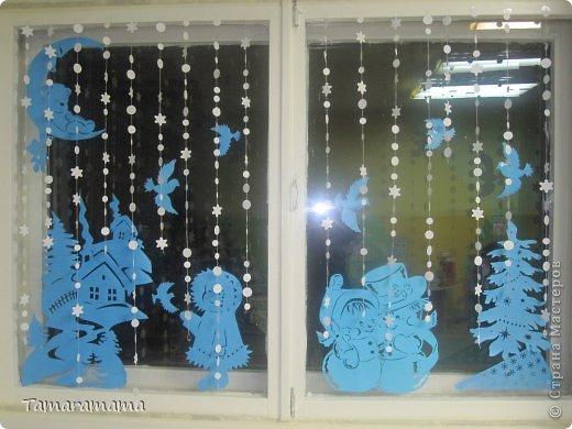 Не судите строго, так мы оформили окна в группе детского сада фото 1
