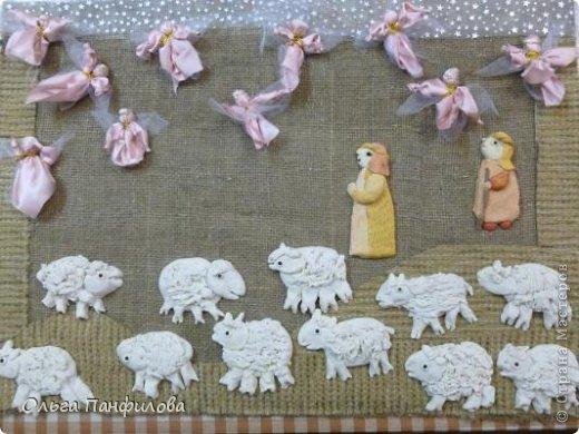 поделка на рождество христово своими руками мастер класс