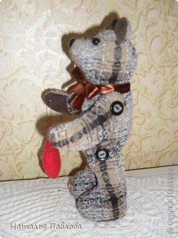 """сшила первого мишку в своей практике,наверное с ушами намудрила...но выставляю свой первый """"блин""""... фото 5"""