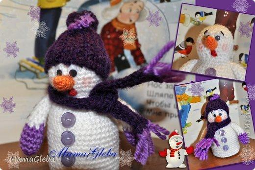 Пора готовиться к Новому Году. Я обожаю снеговиков, и с каждым годом моя коллекция этих милых созданий пополняется! фото 2