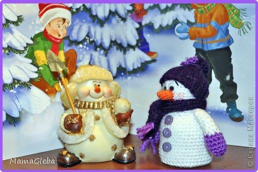 Пора готовиться к Новому Году. Я обожаю снеговиков, и с каждым годом моя коллекция этих милых созданий пополняется! фото 3