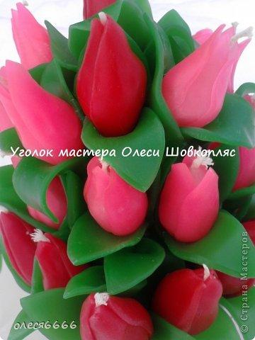 Лепные свечи в упаковке))) красивый момент) фото 4
