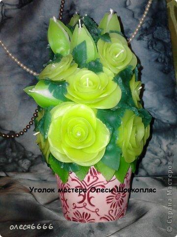 Поделка изделие 8 марта Новый год Рождество Свадьба Лепка Лепные свечи Бисер Воск парафин Глина фото 5
