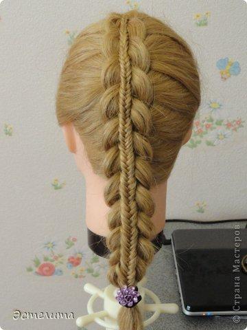 Мастер-класс Прическа Плетение Небольшой МК по плетению двойной косы Волосы фото 1