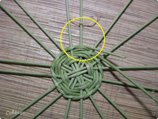 Мастер-класс Плетение МК - Шкатулка из бумаги Бумага газетная Трубочки бумажные фото 8