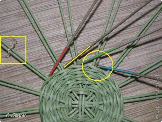Мастер-класс Плетение МК - Шкатулка из бумаги Бумага газетная Трубочки бумажные фото 11